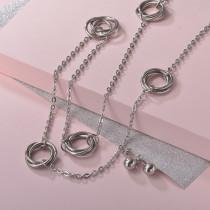 Conjunto de Aretes en Acero Inoxidable para mujer -SSCSG126-22134