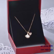 Collar de Plata 925 con Circones para Mujer -PLNEG190-22401