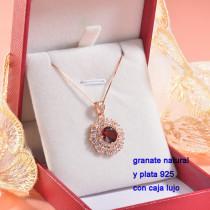 Collar de Plata con piedra preciosa natural-PLNEG196-22777