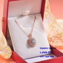 Collar de Plata con piedra preciosa natural-PLNEG196-22768
