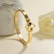 pulsera de acero inoxidable para mujer -SSBTG142-23045