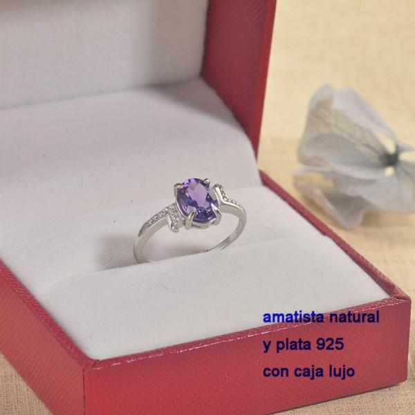 Anillos de Plata con piedra preciosa natural-PLRGG197-22868