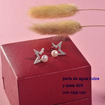 aretes de plata con perla agua de dulce natural-PLEGG197-22912