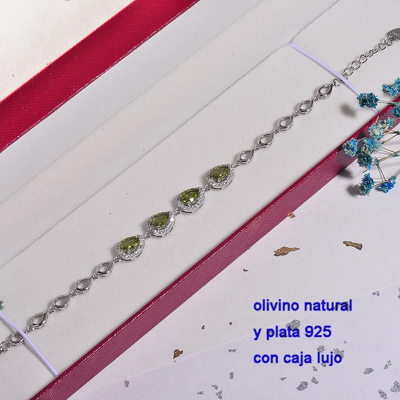 Pulsera de Plata con piedra preciosa natural-PLBTG196-22903