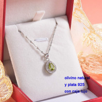 Collar de Plata con piedra preciosa natural-PLNEG196-22784
