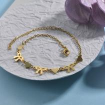 pulsera de acero inoxidable para mujer -SSBTG142-22975