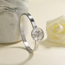 pulsera de acero inoxidable para mujer -SSBTG142-23043
