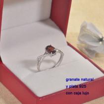 Anillos de Plata con piedra preciosa natural-PLRGG197-22863
