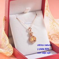 Collar de Plata con piedra preciosa natural-PLNEG196-22771
