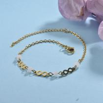 pulsera de acero inoxidable para mujer -SSBTG142-22982