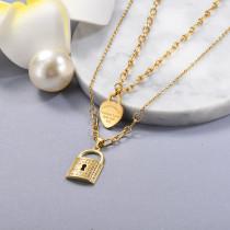 Joyas de Acero Inoxidable para Mujer -SSNEG142-23600