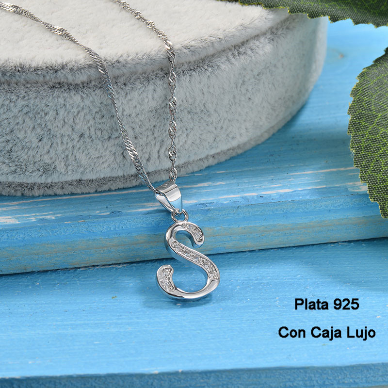 Collares de Plata 925 Puro para Mujer -PLNEG190-24224