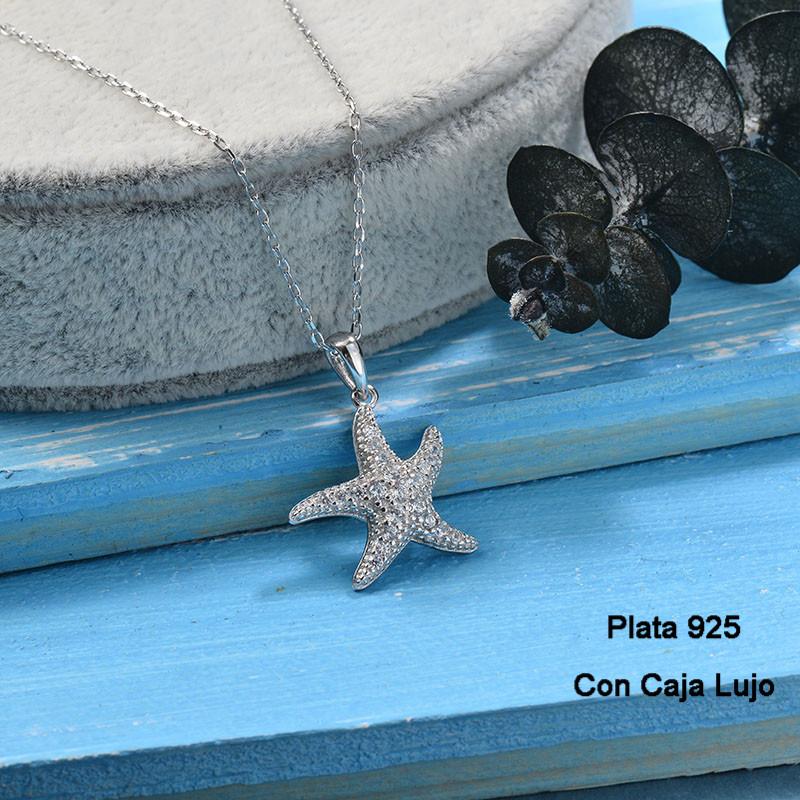 Collares de Plata 925 Puro para Mujer -PLNEG190-24238