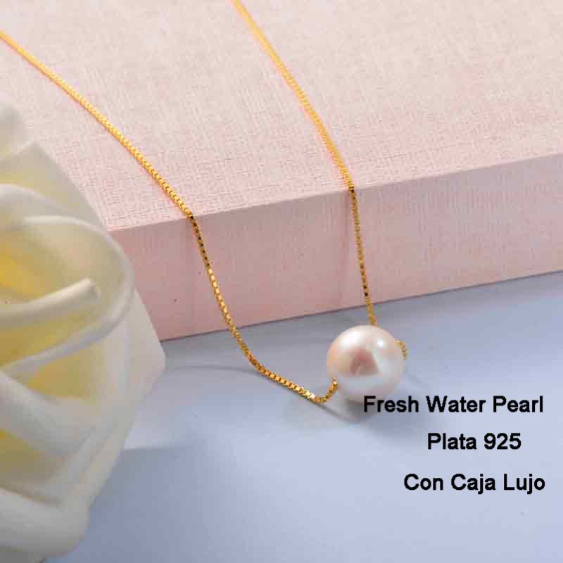 Collares de Plata 925 Puro para Mujer -PLNEG191-24276