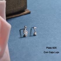 Aretes de Plata 925 Puro para Mujer -PLEGG190-24171