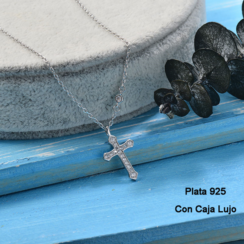 Collares de Plata 925 Puro para Mujer -PLNEG190-24241