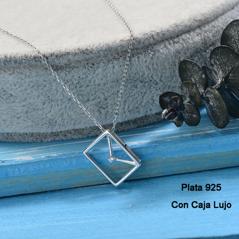Collares de Plata 925 Puro para Mujer -PLNEG190-24248