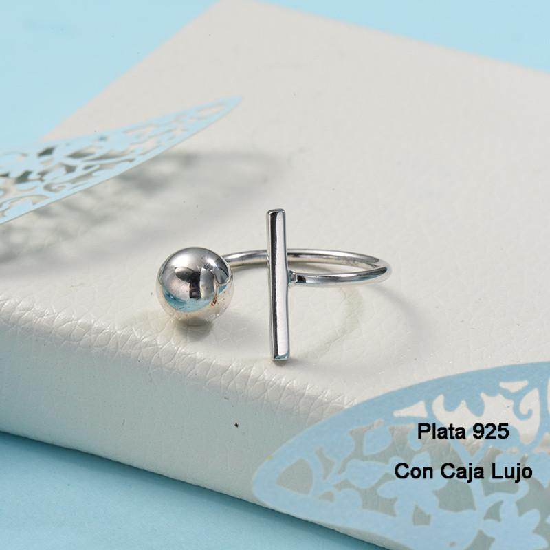 Anillos de Plata 925 Puro para Mujer -PLRGG190-24257