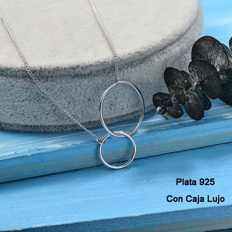 Collares de Plata 925 Puro para Mujer -PLNEG190-24240