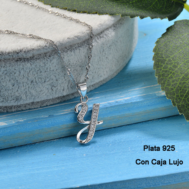 Collares de Plata 925 Puro para Mujer -PLNEG190-24230