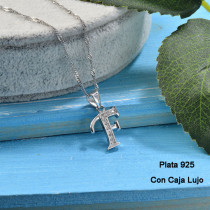 Collares de Plata 925 Puro para Mujer -PLNEG190-24212
