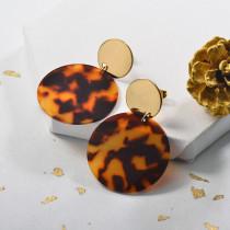 Aretes de Leopard con Acero Inoxidable -SSEGG143-24012