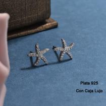 Aretes de Plata 925 Puro para Mujer -PLEGG190-24170