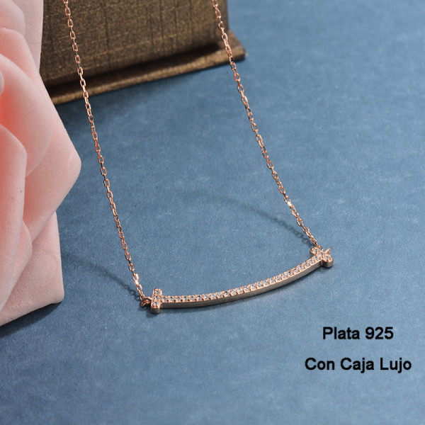 Collares de Plata 925 Puro para Mujer -PLNEG190-24205