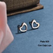 Aretes de Plata 925 Puro para Mujer -PLEGG190-24179