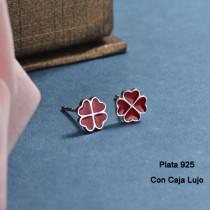 Aretes de Plata 925 Puro para Mujer -PLEGG190-24178