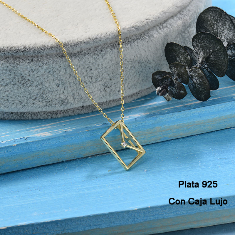 Collares de Plata 925 Puro para Mujer -PLNEG190-24243