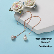 Aretes de Plata 925 Puro para Mujer -PLEGG191-24262