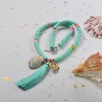 Collares de Estilo bohemio con Charms Acero -SSNEG143-24009