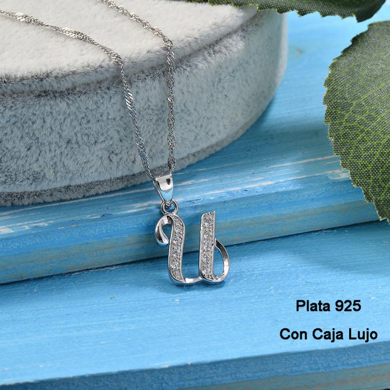 Collares de Plata 925 Puro para Mujer -PLNEG190-24226