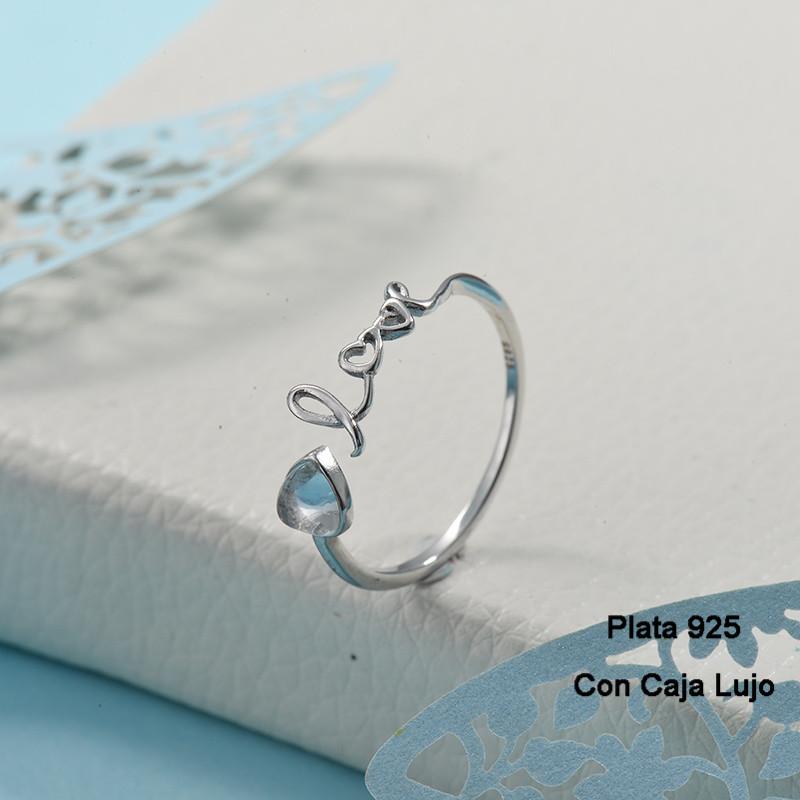 Anillos de Plata 925 Puro para Mujer -PLRGG190-24256