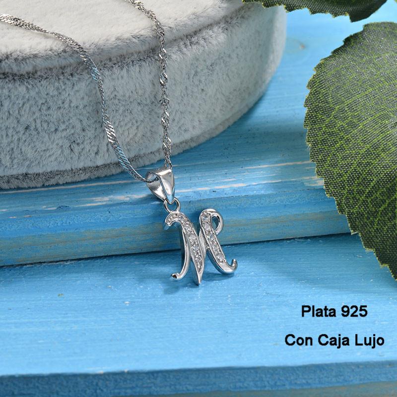 Collares de Plata 925 Puro para Mujer -PLNEG190-24219
