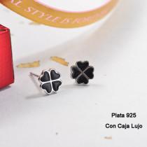 Aretes de Plata 925 Puro para Mujer -PLEGG190-24163