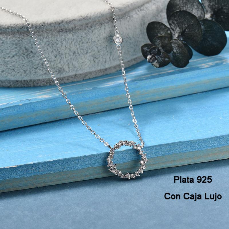 Collares de Plata 925 Puro para Mujer -PLNEG190-24250