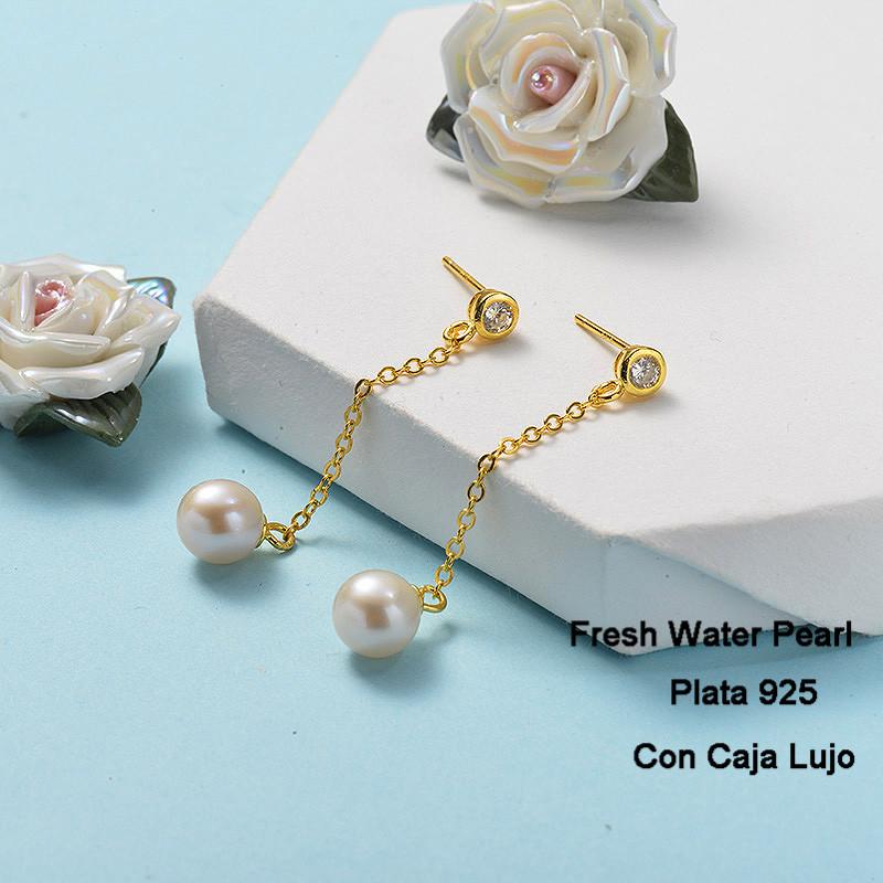 Aretes de Plata 925 Puro para Mujer -PLEGG191-24268