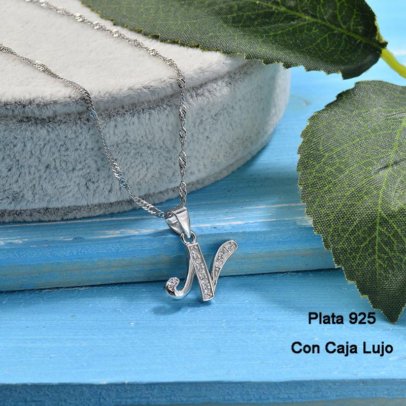 Collares de Plata 925 Puro para Mujer -PLNEG190-24220