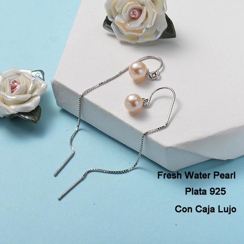 Aretes de Plata 925 Puro para Mujer -PLEGG191-24271