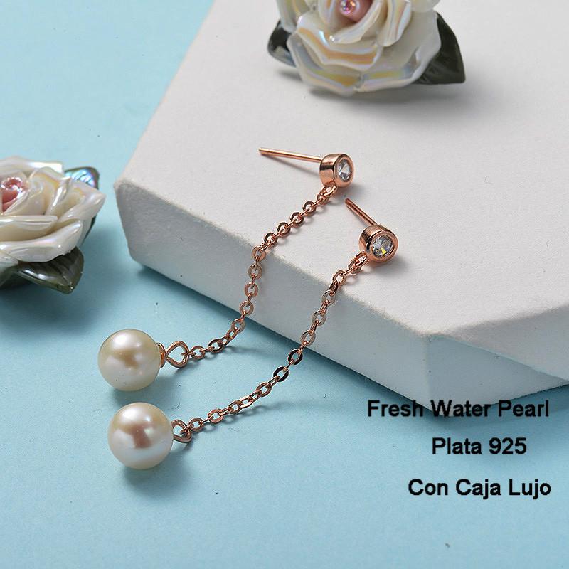 Aretes de Plata 925 Puro para Mujer -PLEGG191-24269