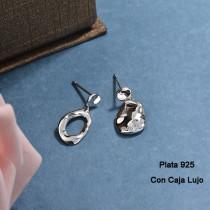 Aretes de Plata 925 Puro para Mujer -PLEGG190-24173