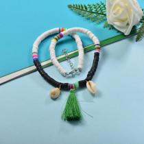 Collares de Estilo bohemio con Charms Acero -SSNEG143-23997