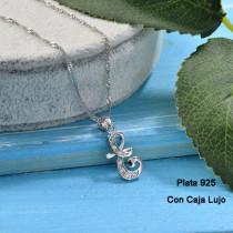 Collares de Plata 925 Puro para Mujer -PLNEG190-24211