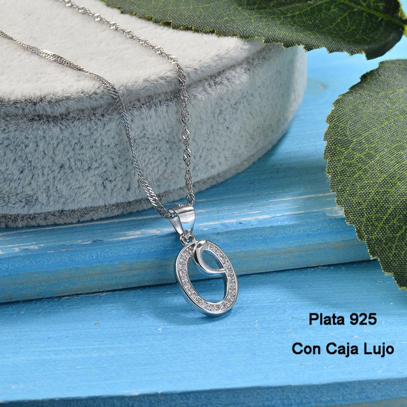 Collares de Plata 925 Puro para Mujer -PLNEG190-24222