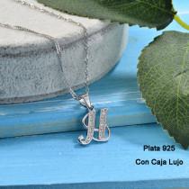 Collares de Plata 925 Puro para Mujer -PLNEG190-24214