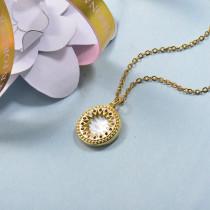 Collares de Laton con cadena de acero -BRNEG158-24071