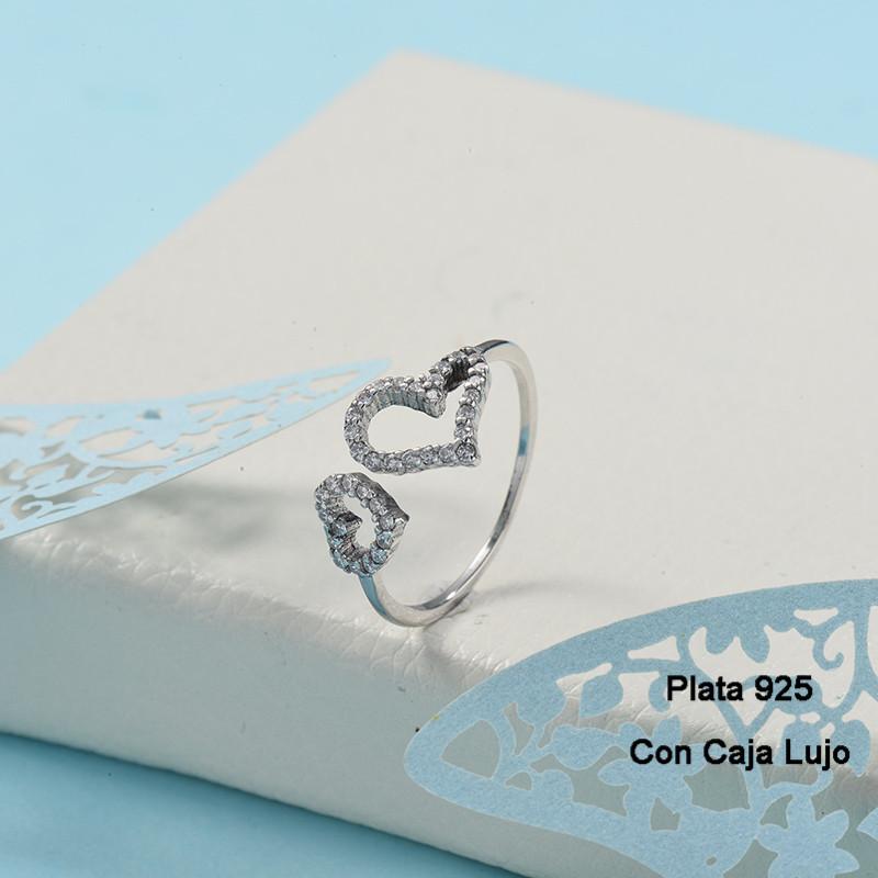 Anillos de Plata 925 Puro para Mujer -PLRGG190-24258