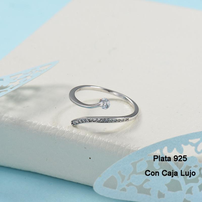 Anillos de Plata 925 Puro para Mujer -PLRGG190-24260